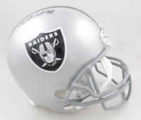 Fred Biletnikoff Signed Raiders Full-Size Helmet (Beckett COA) at PristineAuction.com