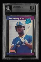 Ken Griffey Jr. 1989 Donruss #33 RR RC (BGS 8.5) at PristineAuction.com