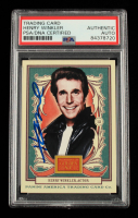 Henry Winkler Signed 2013 Panini Golden Age #85 (PSA Encapsulated) at PristineAuction.com