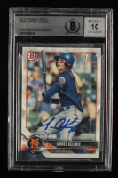 Jarred Kelenic Signed 2018 Bowman Draft #BD6 (BGS Encapsulated) at PristineAuction.com