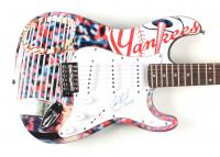 "Joe Girardi Signed Yankees Custom 39"" Electric Guitar Inscribed ""09 WS Champs"" (JSA COA) at PristineAuction.com"