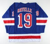 "Jean Ratelle Signed Jersey Inscribed ""HOF 85"" (JSA COA) at PristineAuction.com"