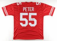 Jason Peter Signed Jersey (JSA COA) at PristineAuction.com