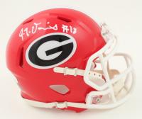JT Daniels Signed Georgia Bulldogs Speed Mini Helmet (JSA COA) at PristineAuction.com