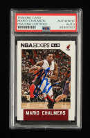 Mario Chalmers Signed 2015-16 Hoops #124 (PSA Encapsulated) at PristineAuction.com