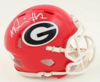 George Pickens Signed Georgia Bulldogs Speed Mini Helmet (JSA COA) at PristineAuction.com