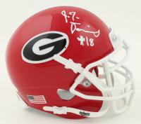 JT Daniels Signed Georgia Bulldogs Mini Helmet (JSA COA) at PristineAuction.com