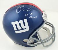 "Osi Umenyiora Signed Giants Full-Size Helmet Inscribed ""2X SB Champ!"" (JSA Hologram) at PristineAuction.com"