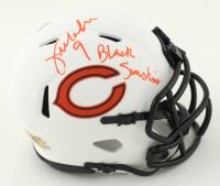 "Jim McMahon Signed Bears Lunar Eclipse Alternate Speed Mini Helmet Inscribed ""Black Sunshine"" (MAB Hologram) at PristineAuction.com"