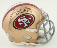 Fred Warner Signed 49ers Speed Mini Helmet (Beckett COA) at PristineAuction.com