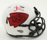 Tyreek Hill Signed Chiefs Lunar Eclipse Alternate Speed Mini Helmet (Beckett COA) at PristineAuction.com