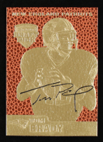 Tom Brady 2006 Merrick Mint Feel The Game 23 KT Gold Card at PristineAuction.com