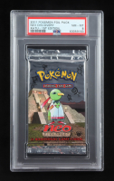 2001 Pokemon Neo Discovery 1st Edition Booster Pack (PSA 8) at PristineAuction.com