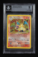 Charizard 1999 Pokemon Base Unlimited #4 Holo (BGS 9) at PristineAuction.com