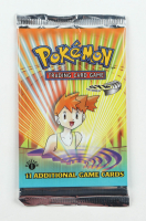 2000 Pokemon TCG Gym Heroes 1st Edition Booster Pack with (11) Cards at PristineAuction.com