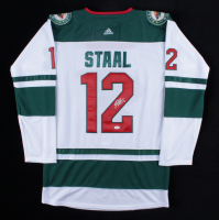 Eric Staal Signed Jersey (JSA COA) at PristineAuction.com