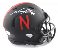 Neil Smith Signed Nebraska Cornhuskers Eclipse Alternate Speed Mini Helmet (JSA COA) at PristineAuction.com