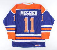Mark Messier Signed Oilers Captains Jersey (CX Hologram) at PristineAuction.com