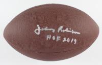 "Johnny Robinson Signed NFL Football Inscribed ""HOF 2019"" (JSA COA) (See Description) at PristineAuction.com"