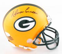 Ahman Green Signed Packers Mini Helmet (JSA COA) at PristineAuction.com
