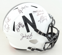 """Nebraska Cornhuskers Full-Size Speed Helmet Team-Signed by (7) with Tommie Frazier, Jason Peter, Grant Wistrom Inscribed """"1994 National Champs!"""" (JSA COA) at PristineAuction.com"""