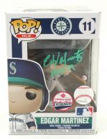 "Edgar Martinez Signed ""Seattle Mariners"" #11 Edgar Martinez T-Mobile Park Exlusive Funko Pop! Vinyl Figure Inscribed ""HOF 19"" (JSA COA) at PristineAuction.com"