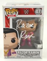 "Razor Ramon Signed ""WWE"" #47 Funko Pop! Vinyl Figure (MAB Hologram) at PristineAuction.com"
