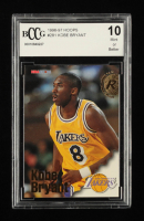 Kobe Bryant 1996-96 Hoops #281 RC (BCCG 10) at PristineAuction.com
