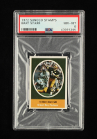 Bart Starr 1972 Sunoco Stamps #225 (PSA 8) at PristineAuction.com