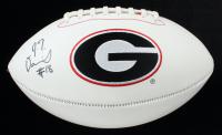 JT Daniels Signed Georgia Bulldogs Logo Football (JSA COA & Daniels Hologram) at PristineAuction.com