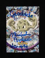 "Michael Haigney Signed Geodude 1999 Pokemon TV Animation Series 1 #74 Inscribed ""Geodude"" & ""Psyduck"" (JSA COA) at PristineAuction.com"