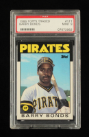 Barry Bonds 1986 Topps Traded #11T RC (PSA 9) at PristineAuction.com