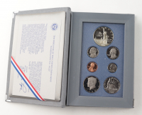1986-S United States Mint Prestige Coin Set with (7) Coins & Original Packaging at PristineAuction.com