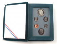 1990-S United States Mint Prestige Coin Set with (6) Coins & Original Packaging at PristineAuction.com