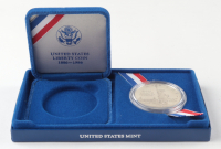 1986-S U.S Liberty Silver Dollar Coin with Original Packaging at PristineAuction.com