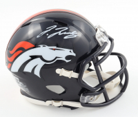 Jerry Jeudy Signed Broncos Speed Mini Helmet (Beckett Hologram) at PristineAuction.com