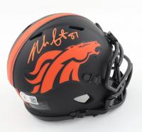 Noah Fant Signed Broncos Eclipse Alternate Speed Mini Helmet (Beckett Hologram) at PristineAuction.com