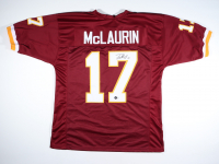 """Terry McLaurin Signed Jersey Inscribed """"Scary Terry"""" (Beckett Hologram) at PristineAuction.com"""