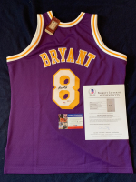 Kobe Bryant Signed Lakers Mitchell & Ness Jersey (Beckett LOA & PSA COA) at PristineAuction.com