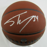 Shaquille O'Neal Signed NBA All Surface Basketball (Mounted Memories Hologram) at PristineAuction.com
