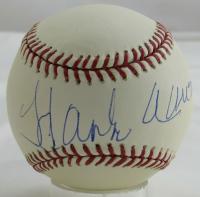 Hank Aaron Signed OML Baseball (Steiner Hologram) at PristineAuction.com