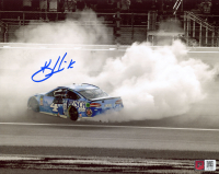 Kevin Harvick Signed NASCAR - Burnout - 8x10 Photo (PA COA) at PristineAuction.com