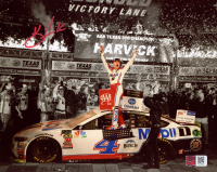 Kevin Harvick Signed 2019 NASCAR - AAA Texas 500 Win - 8x10 Photo (PA COA) at PristineAuction.com