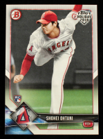 Shohei Ohtani 2018 Topps Bowman Holiday #THSO at PristineAuction.com