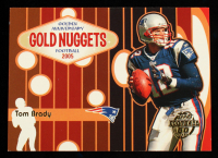 Tom Brady 2005 Topps Golden Anniversary Gold Nuggets #GN4 at PristineAuction.com