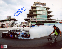Kevin Harvick Signed 2019 NASCAR Indianapolis - Brickyard 400 Win - 8x10 Photo (PA COA) at PristineAuction.com