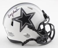 Craig Morton Signed Cowboys Lunar Eclipse Alternate Speed Mini Helmet (JSA COA) at PristineAuction.com