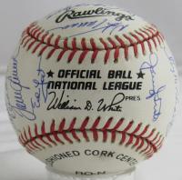 1969 Mets ONL Baseball Signed by (26) with Nolan Ryan, Tom Seaver, Yogi Berra, Tug McGraw (JSA LOA) at PristineAuction.com