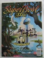 "Reggie White Signed Official NFL Super Bowl XXXI Commemorative Program Inscribed ""40:31"" & ""3 Sacka"" (JSA LOA) at PristineAuction.com"