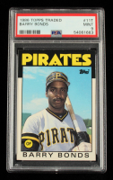 Barry Bonds 1986 Topps Traded #11T XRC (PSA 9) at PristineAuction.com